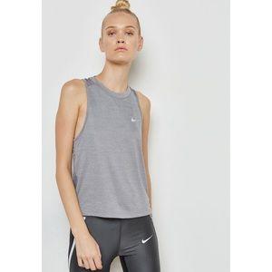 NWT Nike Grey Dri-Fit Miler Tank Size XL
